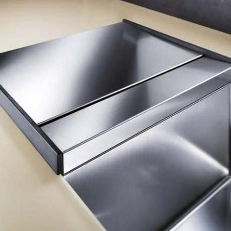 Fregaderos Blanco de acero inoxidable modelo Blanco Claron 340/180-U