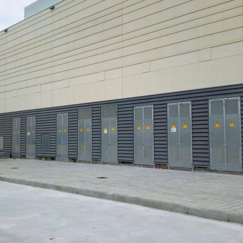 herrajes para centros de transformación: Productos de Construcciones Metálicas Zaro, S. L