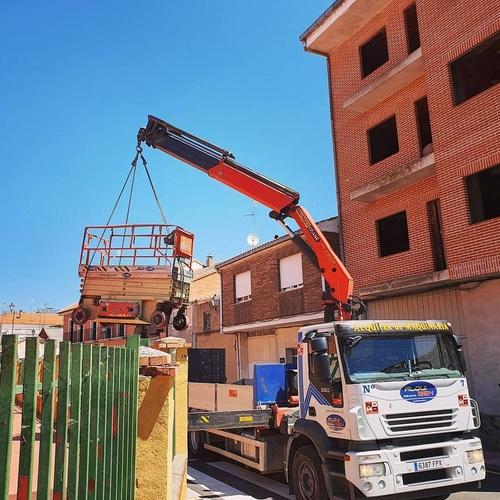Alquiler de maquinaria para obras públicas en Zamora | Grúas Benavente