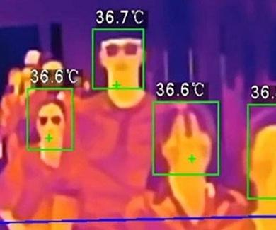 Cámaras térmicas para detectar el coronavirus en los bares.