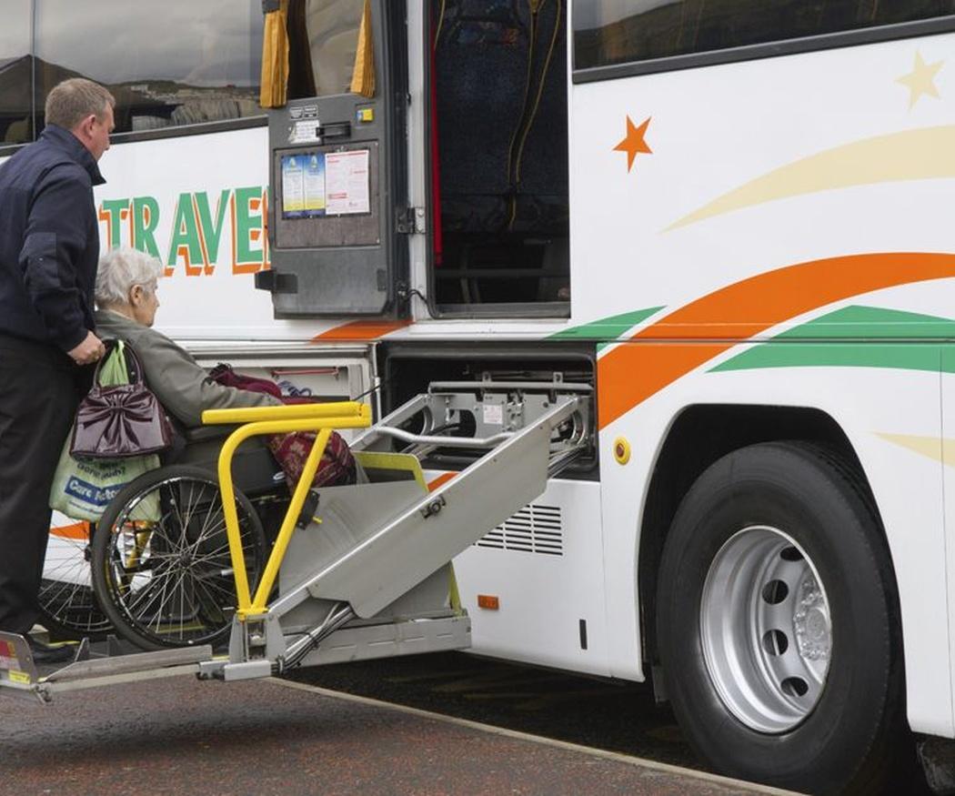 Autobuses adaptados