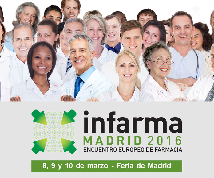 Nuestras azafatas en Infarma 2016