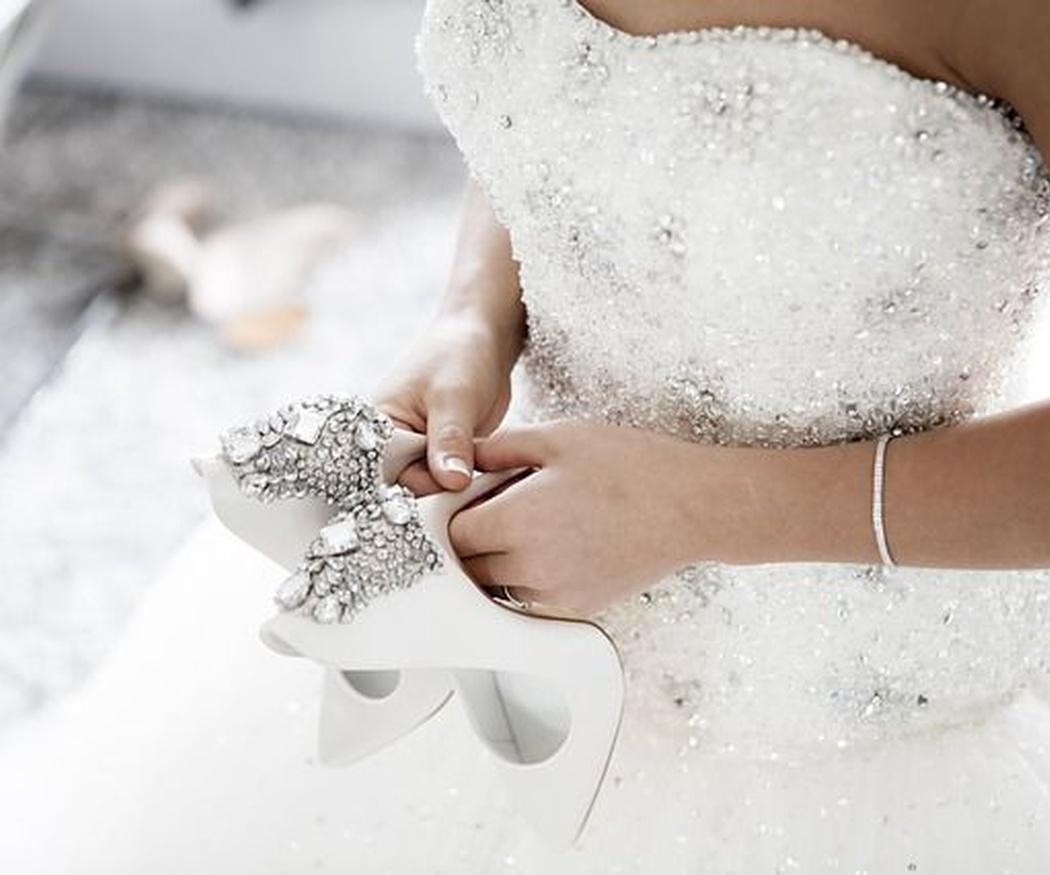 Tejidos para trajes de novia