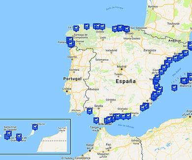 Playa para perros en España 2017