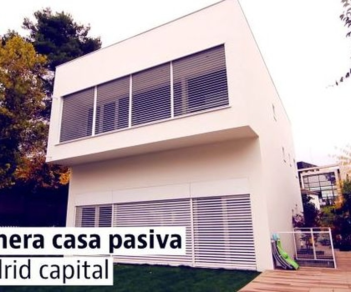PRIMERA CASA PASIVA EN MADRID