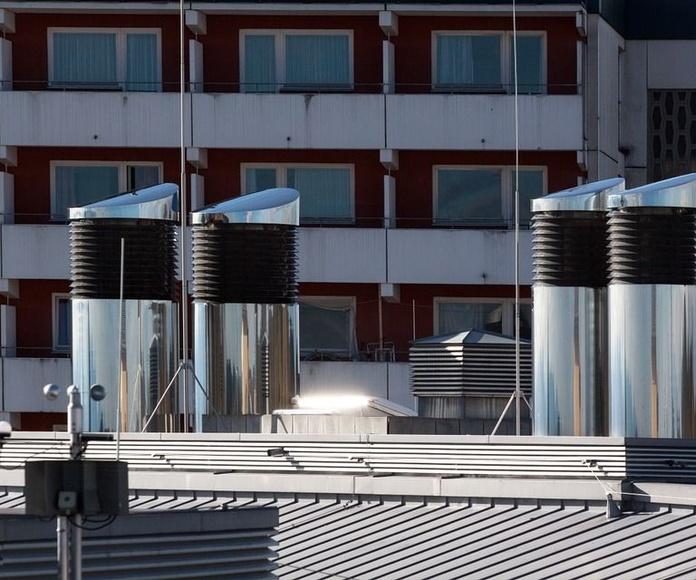 Sistemas de ventilación y de extracción: Servicios de Tareman
