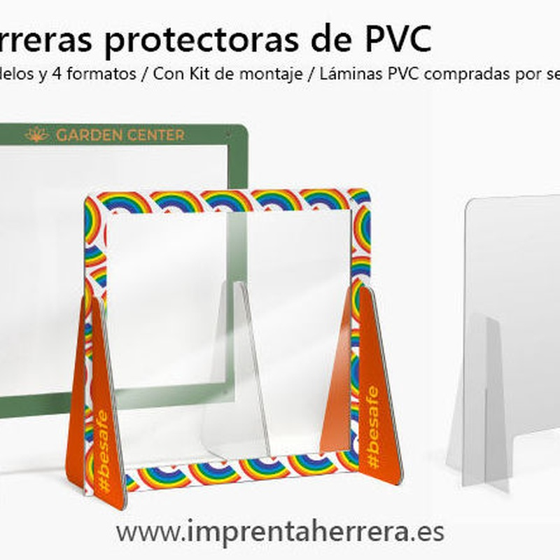 Barreras protectoras PVC