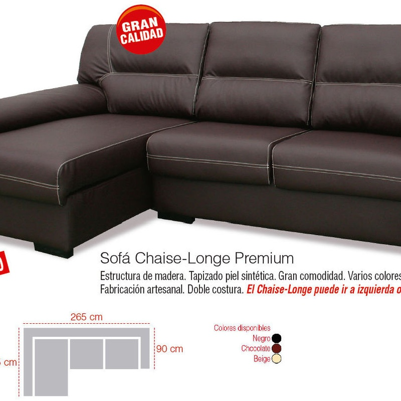 SOFÁ CHAISELONGE PREMIUM ---389€: Productos y Ofertas de Don Electrodomésticos Tienda online
