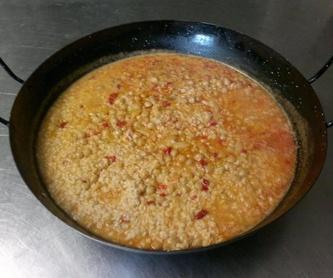 Migas con longaniza: Nuestros platos de Restaurante Agudo