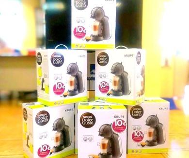 Continúan llegando cafeteras Nescafé Dolce Gusto.