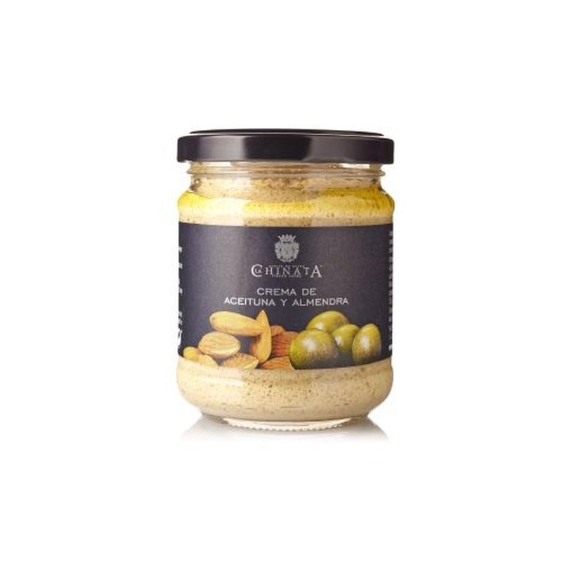Crema de aceitunas verdes y almendras: Selección de productos de Jamonería Pata Negra