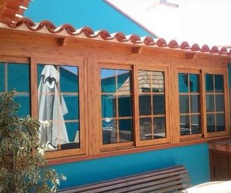 Barandillas de cristal : Carpintería  Aluminio Tenerife de Namiju Aluminios