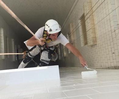Impermeabilización de patios interiores en Girona