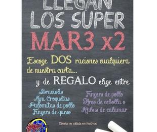 Los Super Mart3 x 2