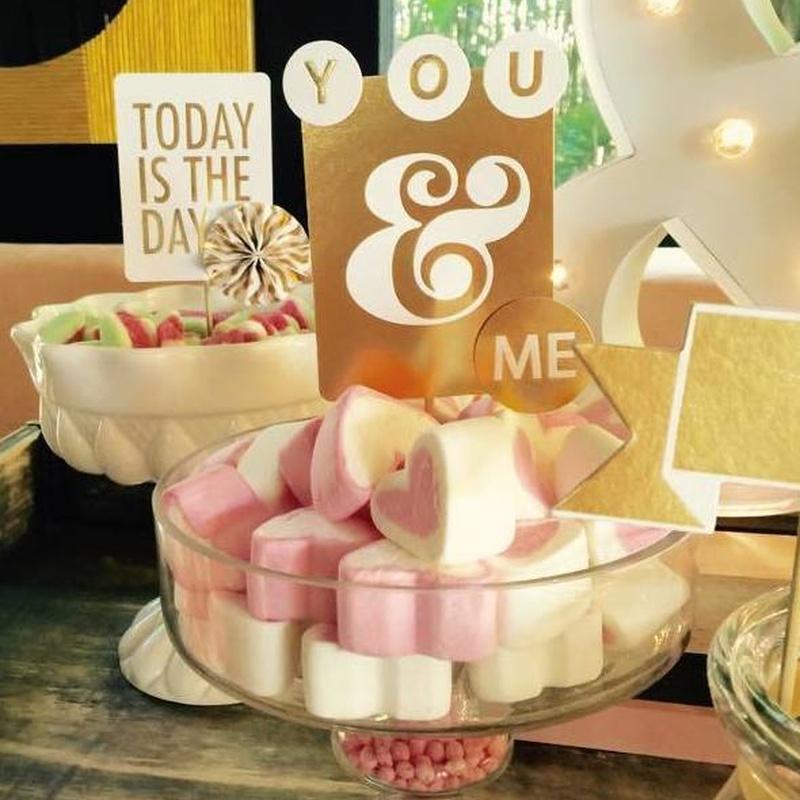 Mesas dulces: Catálogo de Chic Events Shop