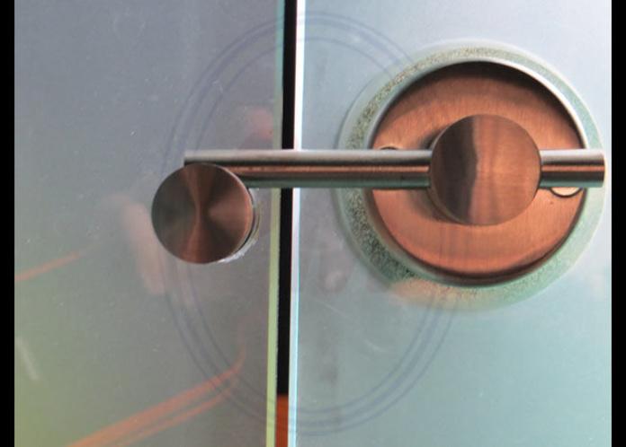 Herrajes para vidrio: Productos  de Cristalera Madrileña