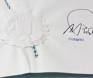 El documento notarial deteriorado