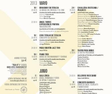 V Festival de Música y Artes de Titulcia