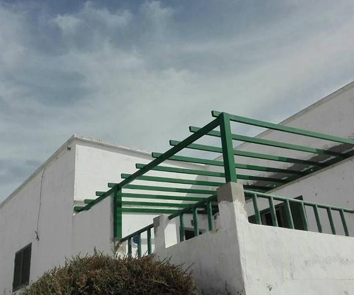 Cubiertas de aluminio: Productos de Curvas y Aluminios González