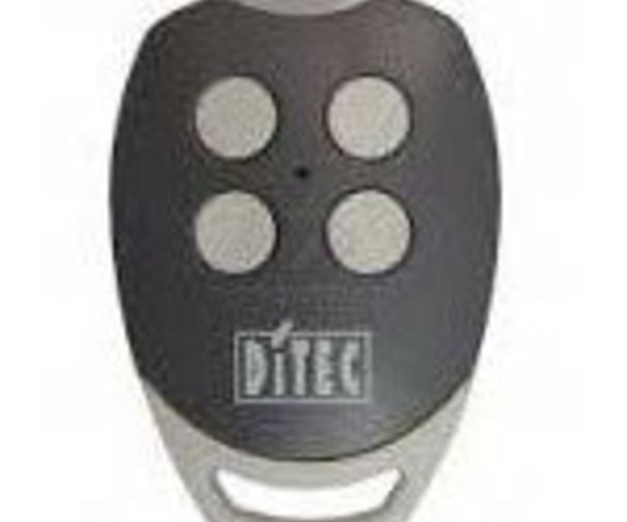 Mando Ditec, 2-4 pulsadores, frecuencia 868Mhz, alta en garaje: Productos de Zapatería Ideal