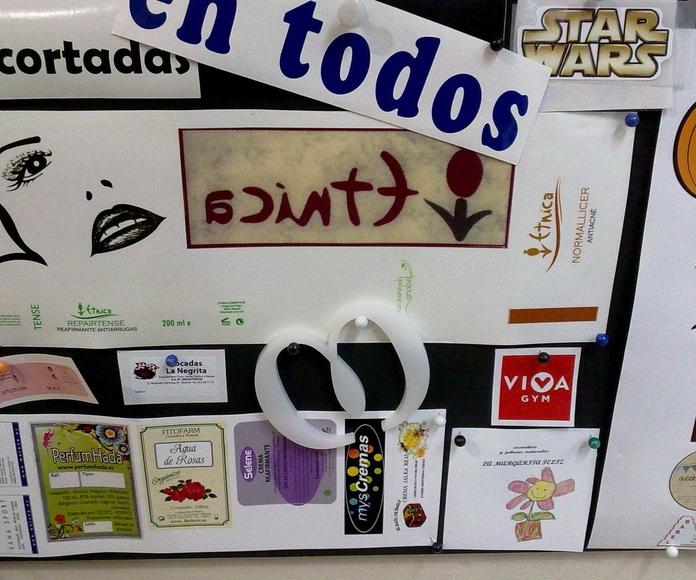 PEGATINAS DE VINILO - LETRAS PRECORTADAS E IMPRESIÓN SOBRE RÍGIDOS