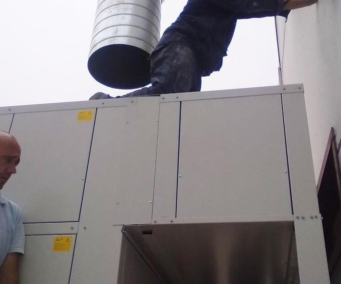 Venta e instalación de aire acondicionado y frío industrial