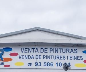 Venta de pinturas para exterior e interior en Rubí