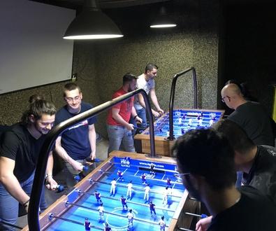 Torneo futbolín de Rem