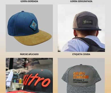Personalización de gorras