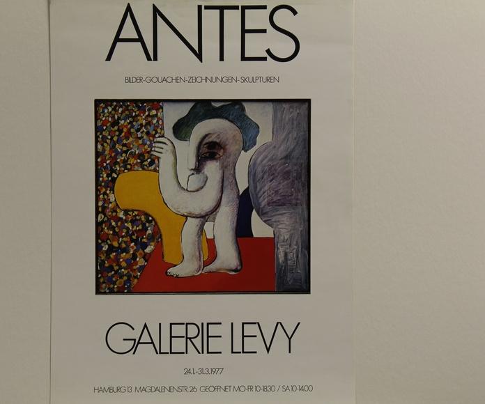 Poster Exposiición Galerie Levy
