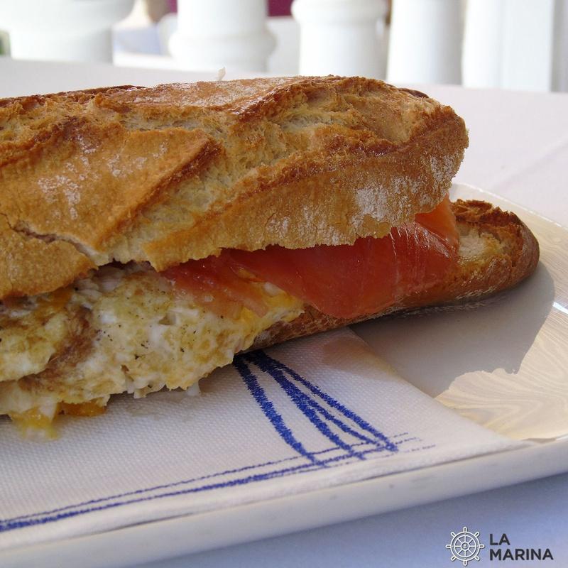 Bocadillos: Carta de Restaurante La Marina