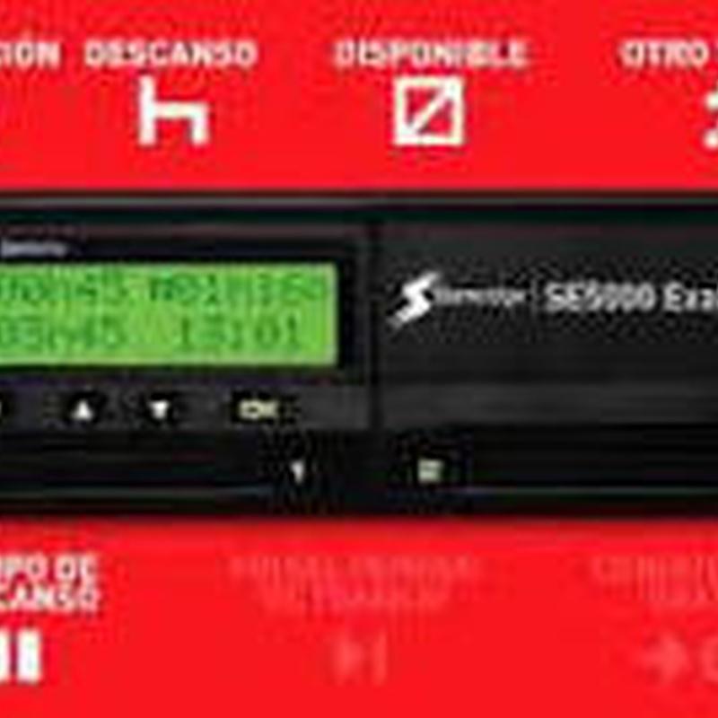 Tacografo Digital Regla del Minuto Stoneridge 12V y 24V