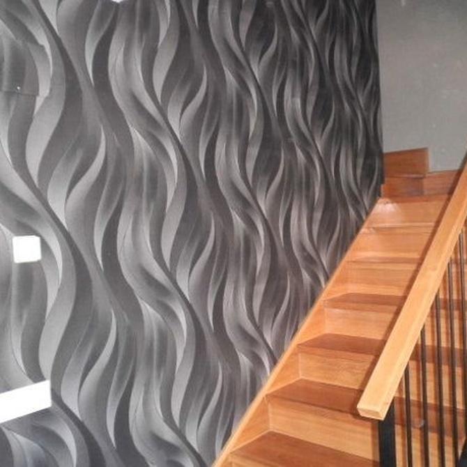Las ventajas de decorar con papel pintado