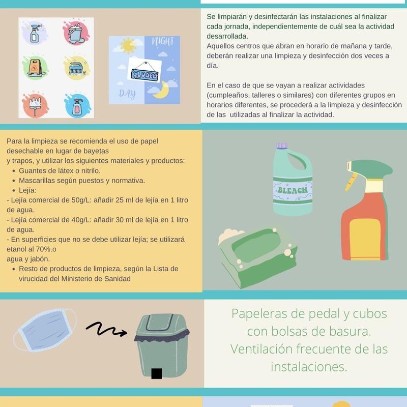 Protocolo limpieza y desinfección de instalaciones