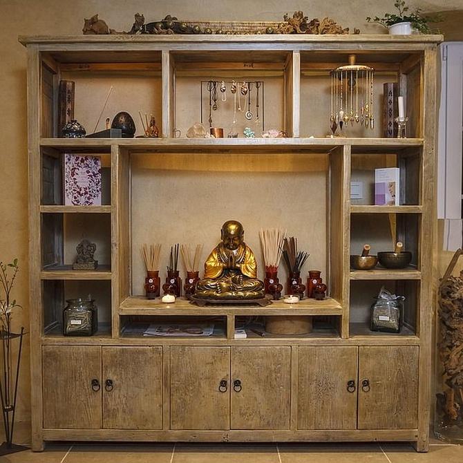 La madera  y el Feng Shui