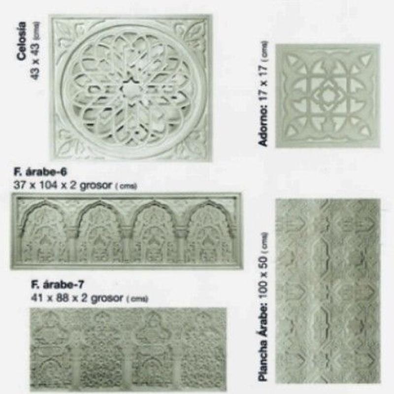 Frisos-Arabes: Catálogo de I. De Escayolas Palomares