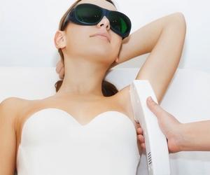 Tratamientos de depilación con luz pulsada