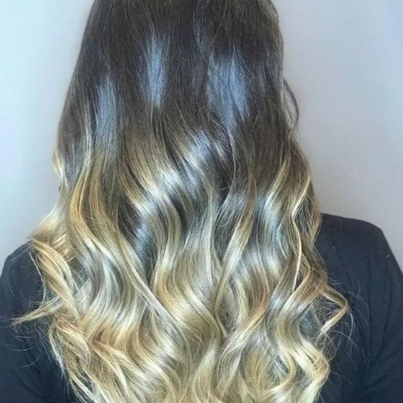 Mechas Balayage: Servicios de peluquería de Sonia Atanes