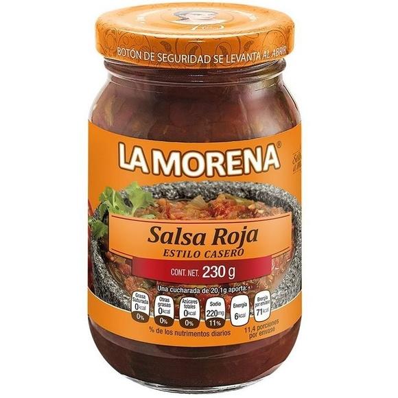 Salsa roja La Morena : PRODUCTOS de La Cabaña 5 continentes