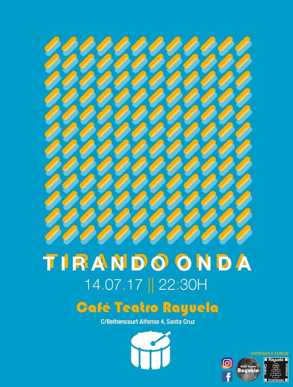 TIRANDO ONDA (Concierto + Jam Session) en Café Teatro Rayuela