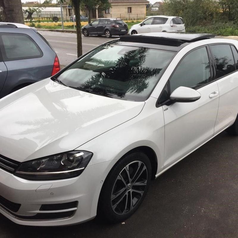 Volkswagen Golf  VII DSG 2.0TDI 150CV:  de Ocasión A Lagoa