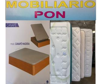 Bases Tapizadas Somieres y Arrastres: Productos de Mobiliario Pon