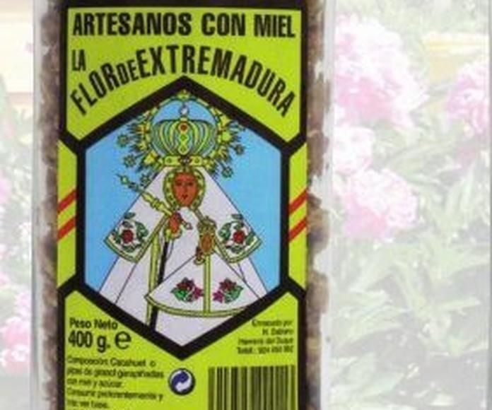 Productos elaborados: Productos de Miel Virgen de Extremadura