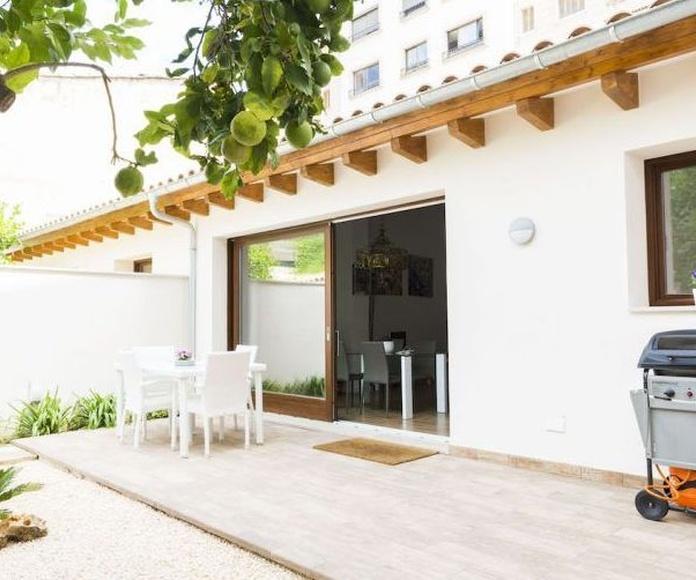 """La reforma de """"Ses Bessones"""" Un oasis en medio de la ciudad(Mallorca): proyectos de interiorismo de Paglialonga studio interiorismo"""