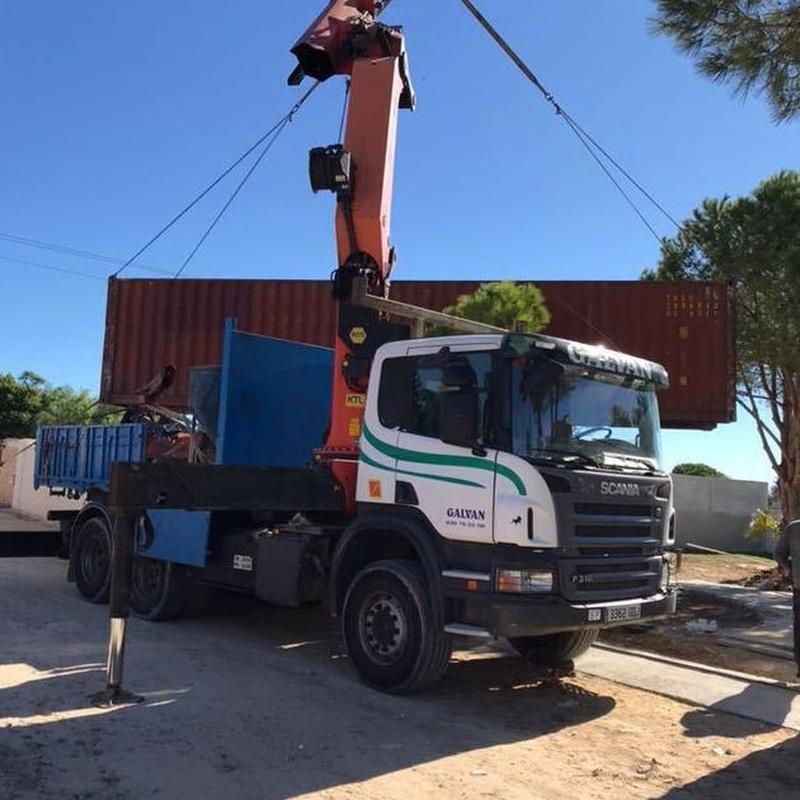 Tractora 4 x 4: Servicios de Transportes y Grúas Galván - Alquileres Galván