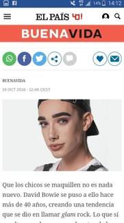 Colaboración en la sección de Psicología de El País