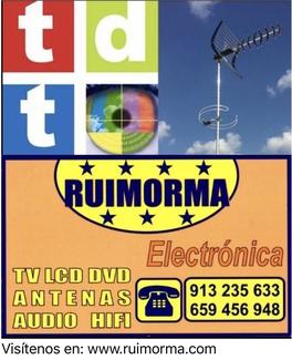 Reparación de antenas en El Barrio del Pilar