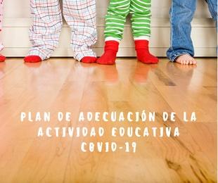 PLAN ADECUACIÓN ACTIVIDADES EDUCATIVAS DESCRIPCIÓN: Aceptación de condiciones