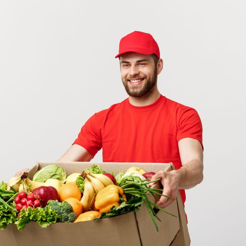 Reparto a domicilio: Frutas y verduras de La Alegría de la Huerta