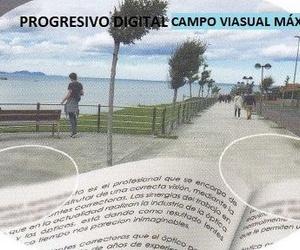 Progresivo digital, campo visual máximo